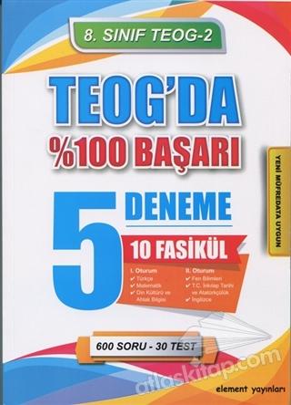 8. SINIF TEOG 2 10 FASİKÜL 5 DENEME (  )