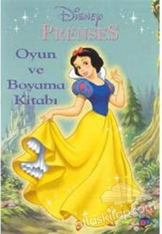 Prenses Oyun Ve Boyama Kitabi Kitap 15 Indirimle Satin Al Atlas