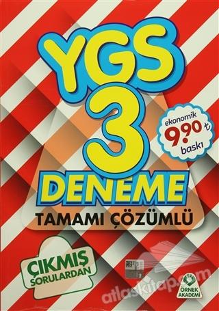 YGS 3 DENEME TAMAMI ÇÖZÜMLÜ (  )