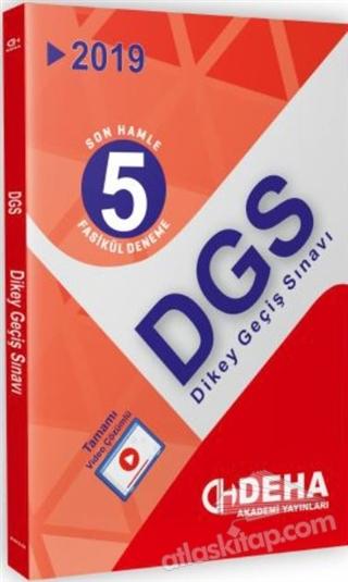 2019 DGS SON HAMLE 5 FASİKÜL DENEME (  )