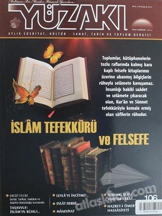YÜZAKI AYLIK EDEBİYAT, KÜLTÜR, SANAT, TARİH VE TOPLUM DERGİSİ/SAYI:106 ARALIK 2013 (  )