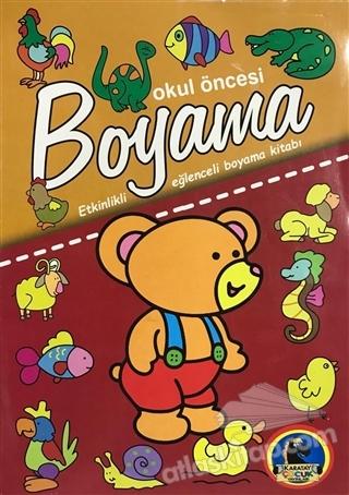 Okul Oncesi Boyama Etkinlikli Eglenceli Dev Bo Kitap 35