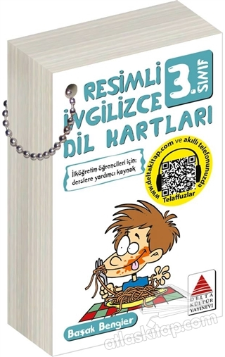 RESİMLİ İNGİLİZCE DİL KARTLARI 3. SINIF (  )