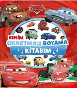 Disney Arabalar Benim çıkartmalı Boyama Kitabı Kitap 15 Indirimle
