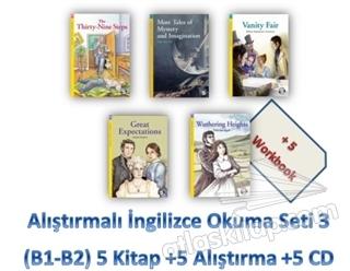 ALIŞTIRMALI İNGİLİZCE OKUMA SETİ 3 (B1-B2) 5 KİTAP +5 ALIŞTIRMA +5 CD (  )