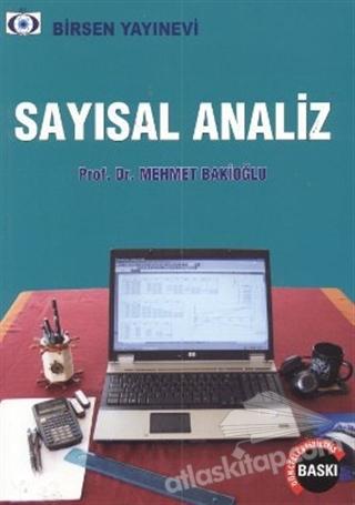 SAYISAL ANALİZ (  )