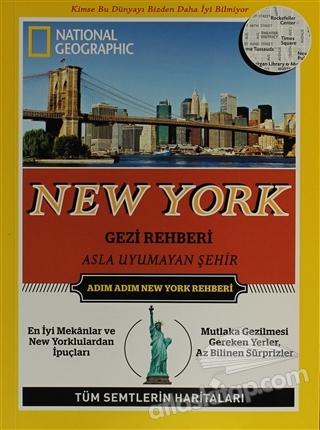 NEW YORK GEZİ REHBERİ ( NATİONAL GEOGRAPHİC KİDS )