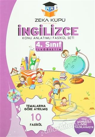 4. SINIF İNGİLİZCE KONU ANLATIMLI FASİKÜL SETİ (10 FASİKÜL) (  )