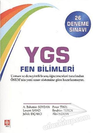 YGS FEN BİLİMLERİ (26 DENEME SINAVI) (  )