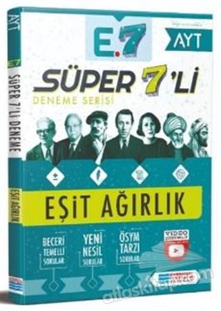 EVRENSEL SÜPER 7'Lİ DENEME - EŞİT AĞIRLIK (  )