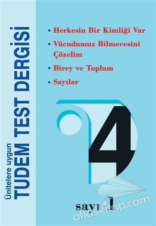 4. SINIF TEST DERGİSİ ( 8'Lİ SET ) (  )