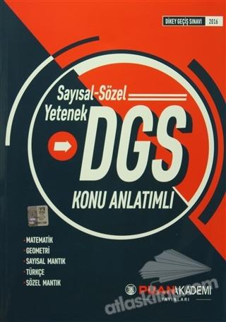 2016 DGS SAYISAL-SÖZEL YETENEK KONU ANLATIMLI (  )