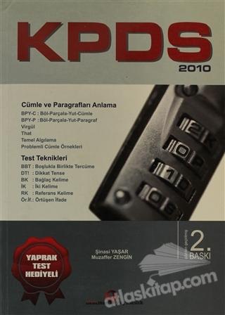 KPDS 2010 ( YAPRAK TEST HEDİYELİ )