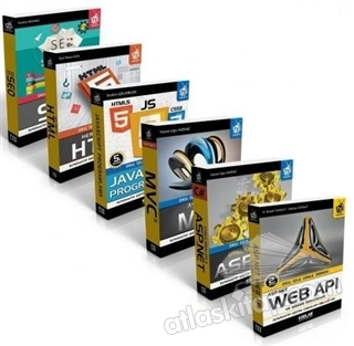 ASP.NET ILE WEB TASARIM SETİ (6 KİTAP TAKIM) (  )