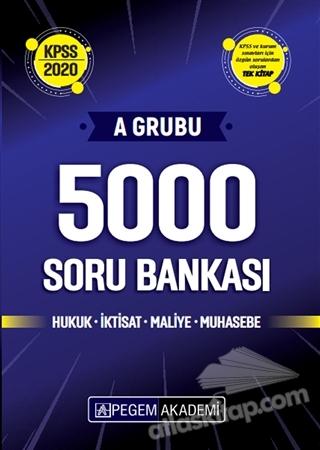 2020 KPSS A GRUBU 5000 SORU BANKASI ( HUKUK İKTİSAT MALİYE MUHASEBE )
