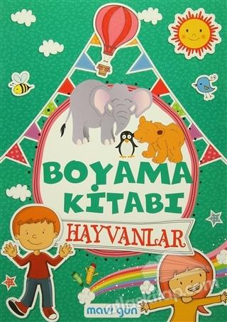Boyama Kitabı Hayvanlar Kitap 30 Indirimle Satın Al Atlas Kitap