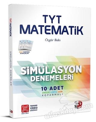 TYT MATEMATİK SİMÜLASYON DENEMELERİ 10'LU (  )
