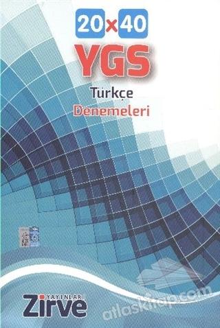 YGS 20x40 TÜRKÇE DENEMELERİ (  )