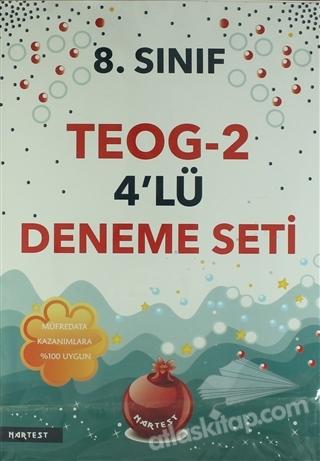 8. SINIF TEOG 2 4'LÜ DENEME TESTİ (  )
