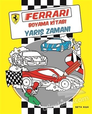Ferrari Boyama Kitabı Yarış Zamanı Kitap 21 Indirimle Satın Al