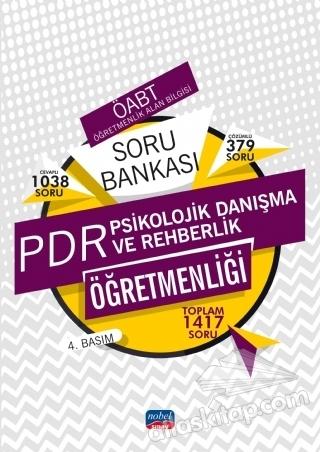 ÖABT PSİKOLOJİK DANIŞMA VE REHBERLİK ÖĞRETMENLİĞİ - SORU BANKASI (  )