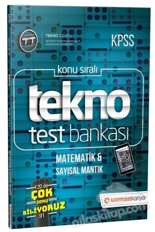 2019 KPSS KONU SIRALI TEKNO TEST BANKASI - MATEMATİK VE SAYISAL MANTIK (  )