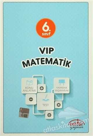 6. SINIF VIP MATEMATİK KONU ANLATIMLI (  )