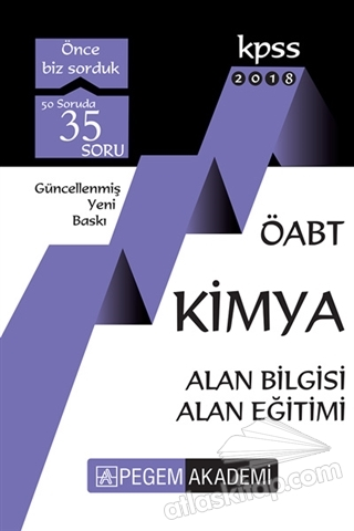 2018 KPSS ÖABT KİMYA KONU ANLATIMLI ( ALAN BİLGİSİ, ALAN EĞİTİMİ )