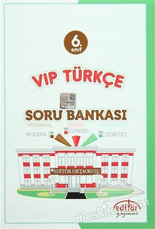6. SINIF VIP TÜRKÇE SORU BANKASI (  )