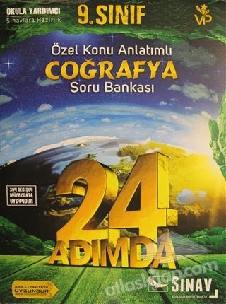 2019 24 ADIMDA 9. SINIF ÖZEL KONU ANLATIMLI COĞRAFYA SORU BANKASI (  )