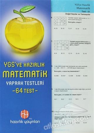 YGS'YE HAZIRLIK MATEMATİK YAPRAK TESTLERİ (64 TEST) (  )