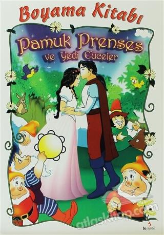 Pamuk Prenses Ve Yedi Cüceler Boyama Kitabı Kitap 30 Indirimle