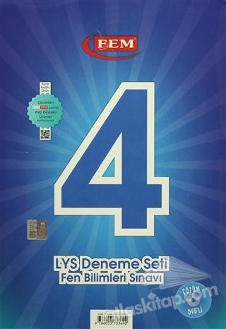 4 LYS DENEME SETİ FEN BİLİMLER SINAVI (  )