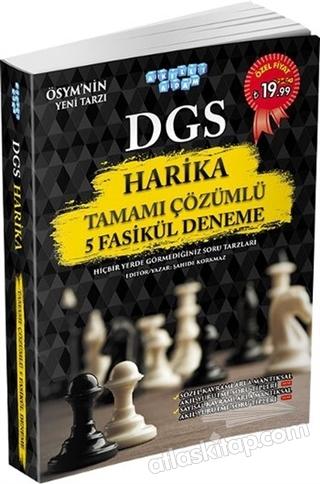 DGS HARİKA TAMAMI ÇÖZÜMLÜ 5 FASİKÜL DENEME (  )