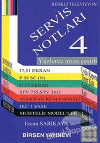 RENKLİ TELEVİZYON SERVİS NOTLARI 4 (  )