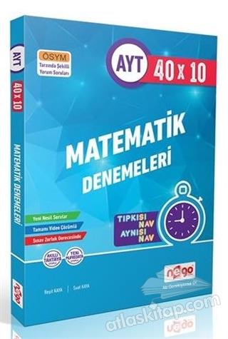 AYT 40x10 MATEMATİK DENEMELERİ (  )