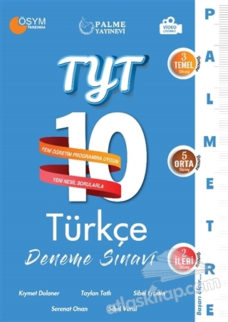 2021 TYT 10 TÜRKÇE DENEME SINAVI (  )