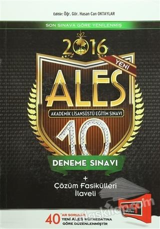 2016 ALES 10 DENEME SINAVI ÇÖZÜM FASİKÜLLERİ İLAVELİ (  )
