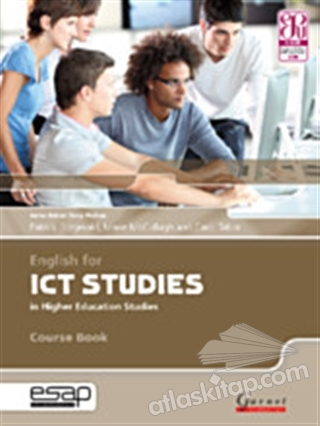 ENGLİSH FOR ICT STUDİES İN HİGHER EDUCATİON STUDİES ( COURSE BOOK WİTH AUDİO CDS )