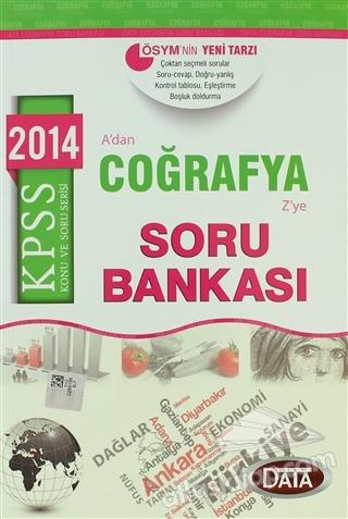 2014 KPSS COĞRAFYA SORU BANKASI (  )