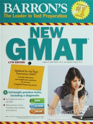 BARRON'S NEW GMAT ( THE LEADER İN TEST PREPARATİON / (STUDENTS 1 CHOİCE) )