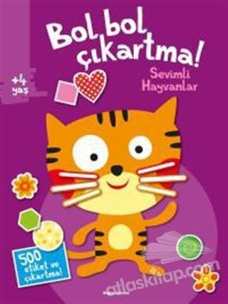BOL BOL ÇIKARTMA - SEVİMLİ HAYVANLAR (  )