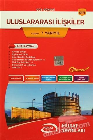 GÜZ DÖNEMİ ULUSLARARASI İLİŞKİLER 4. SINIF 7. YARIYIL (  )