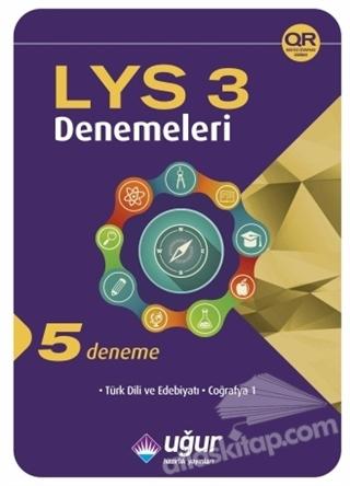 LYS DENEMELERİ 3 (5 DENEME) ( TÜRK DİLİ VE EDEBİYATI - COĞRAFYA 1 )