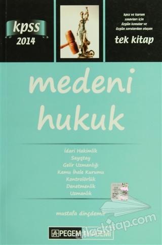 PEGEM 2014 KPSS MEDENİ HUKUK (  )