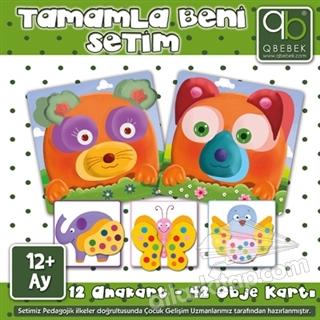 TAMAMLA BENİ SETİM +12 AY ( 12 ANAKART 42 OBJE KARTI )