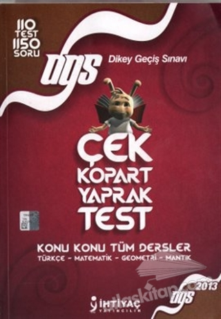 2013 DGS ÇEK KOPART YAPRAK TEST (  )