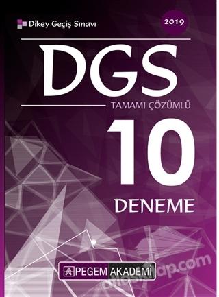 2019 DGS TAMAMI ÇÖZÜMLÜ 10 DENEME (  )