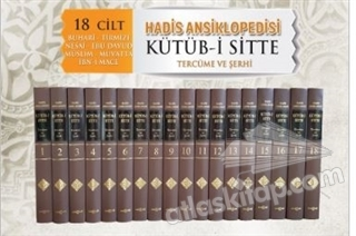 HADİS ANSİKLOPEDİSİ KÜTÜB-İ SİTTE - 18 CİLT TAKIM ( TERCÜME VE ŞERHİ )