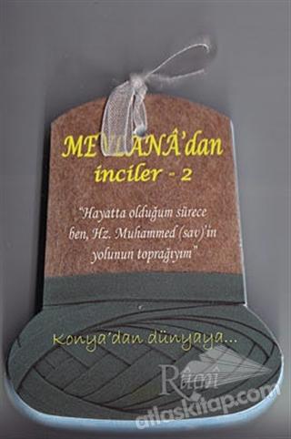 MEVLANA'DAN İNCİLER - 2 (KARTELA) (  )